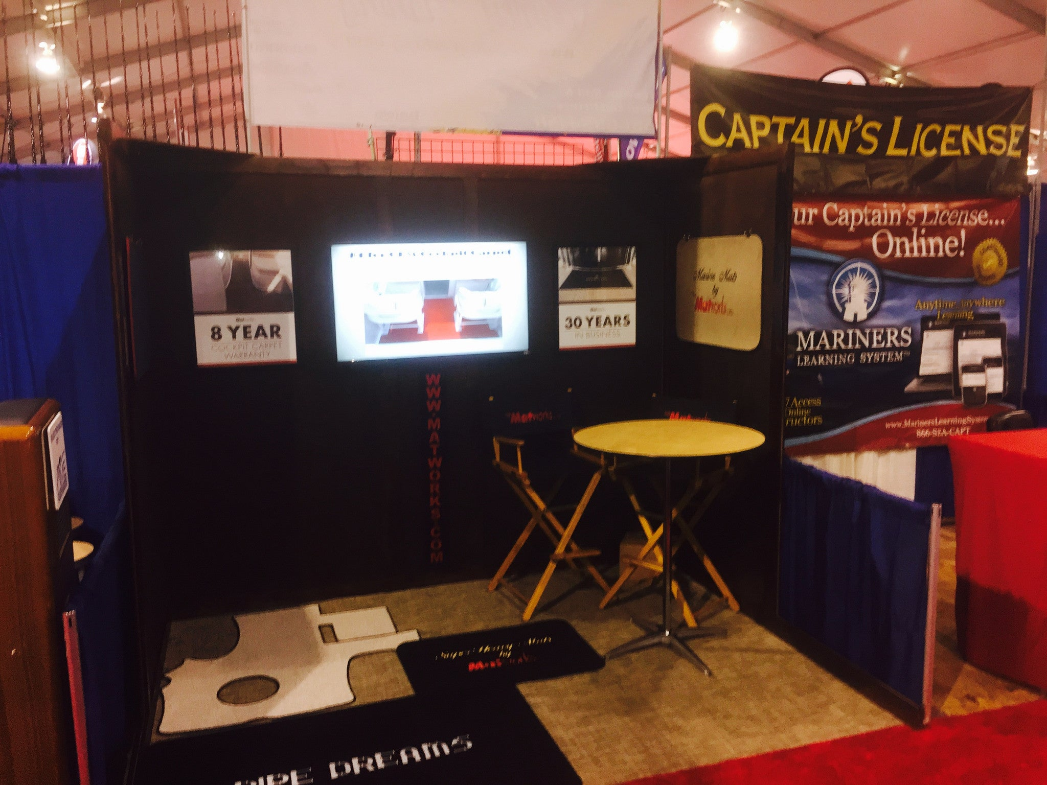 Check us out at the Palm Beach International Boat Show!!