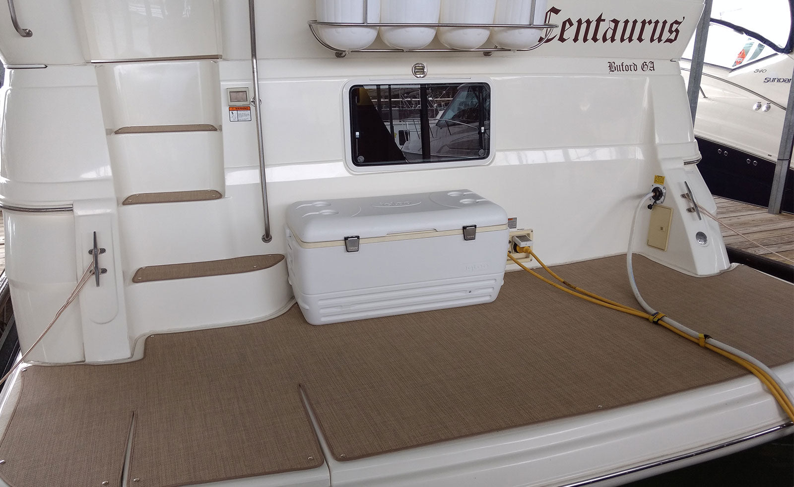 Luxury woven marine vinyl is all the rage this boating season and here is why