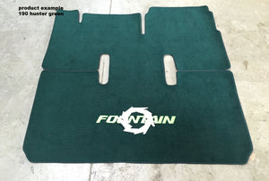 1995-1999 Fountain 35' Snap in Boat Carpet