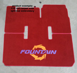 1995-1999 Fountain 35 Lightning Snap in Boat Carpet