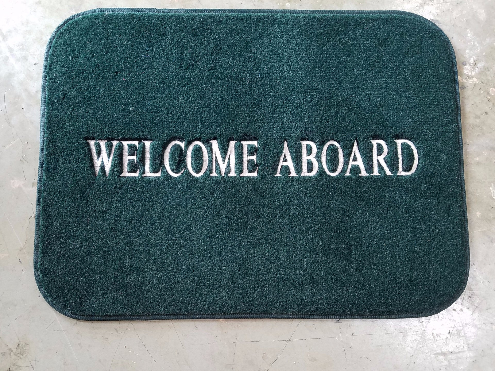 Image result for welcome aboard mats