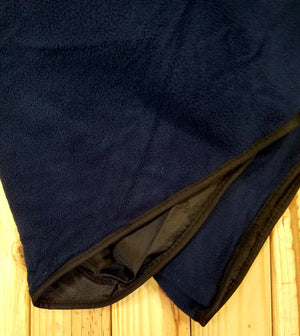 Fleece & Polyester Travel Blanket