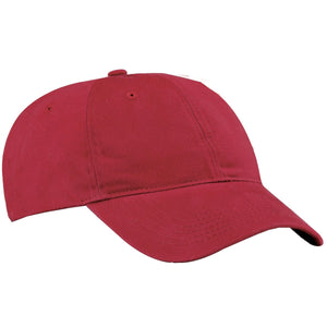 Unisex Brushed Twill Low Profile Cap