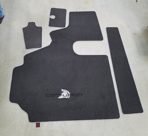 Centurion Avalanche-Escalade- Storm Series Snap in Carpet with Walk thru Snap in Boat Carpet