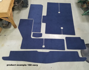 Maxum 3200 SCR- 6 pieces WITH SWIM PLATFORM Snap in Boat Carpet