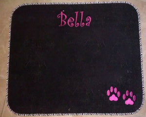 "Personalized Pet Diner Mat 19""X 30"""