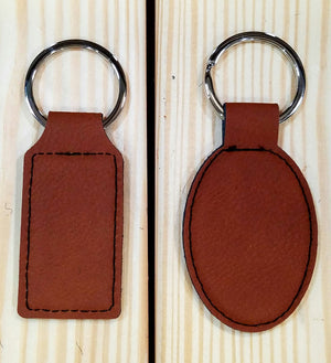 Leather Key Ring (keychain)