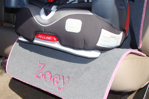 Auto Seat Protector for Child Booster Seat
