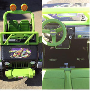 Kid's Electric Vehicle Mats