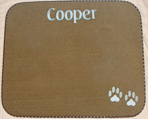 Personalized Pet Diner Mat