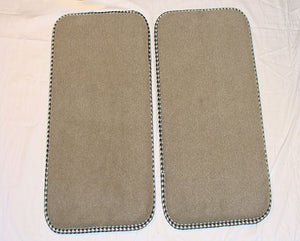 Universal Fit Rear Mat Set  (12 X 20)