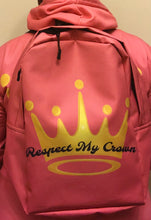 Load image into Gallery viewer, Respect My Crown Backpack