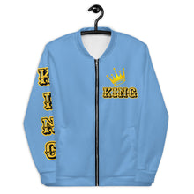 Load image into Gallery viewer, King Unisex Bomber Jacket