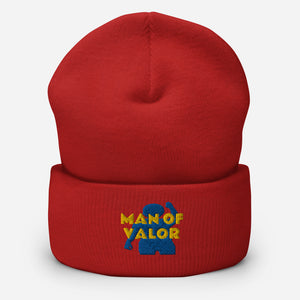 Man of Valor Cuffed Beanie
