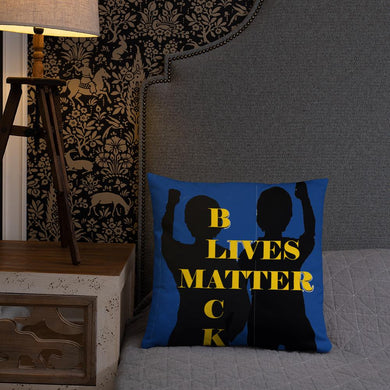 Black Lives Matter Basic Pillow - Shannon Alicia LLC