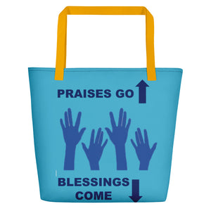 Praises Up Beach Bag