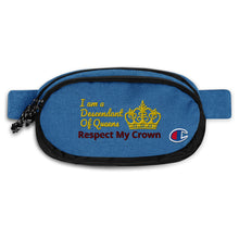 Load image into Gallery viewer, Queen Champion fanny pack