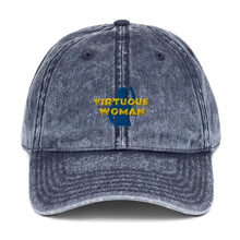 Load image into Gallery viewer, Virtuous Woman Vintage Cotton Twill Cap