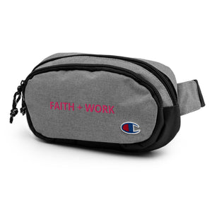 Faith + Work Champion fanny pack