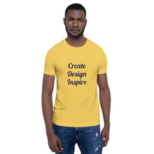 Load image into Gallery viewer, Create Design Inspire - Unisex T-Shirt
