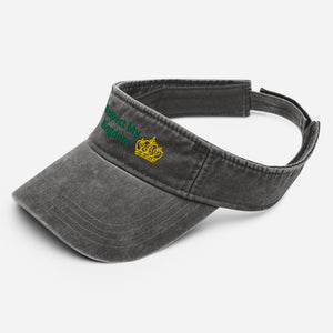 King Denim visor