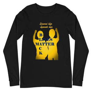 Black Lives Matter Unisex Long Sleeve Tee