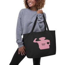 Load image into Gallery viewer, Virtuous Woman Large organic tote bag