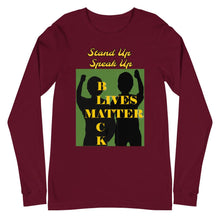 Load image into Gallery viewer, Black Lives Matter Unisex Long Sleeve Tee - Shannon Alicia LLC