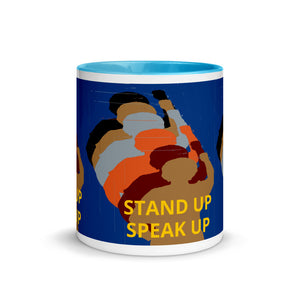 Stand Up Mug with Color Inside