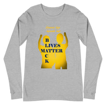 Load image into Gallery viewer, Black Lives Matter Unisex Long Sleeve Tee