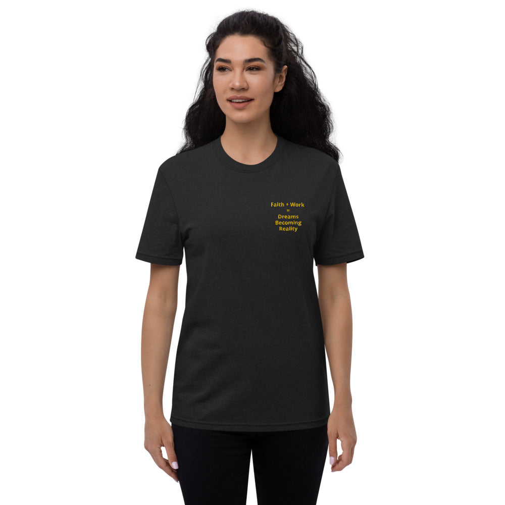 Faith + Work Unisex recycled t-shirt