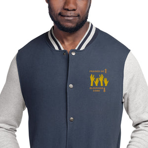 Praises Up Embroidered Champion Bomber Jacket