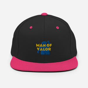 Man of Valor Snapback Hat