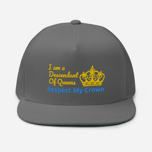 Queen Flat Bill Cap