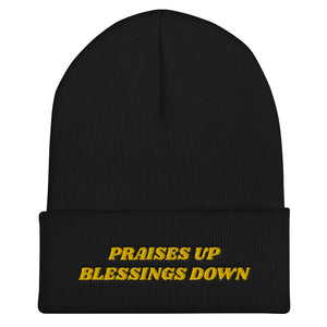 Praises Up Cuffed Beanie