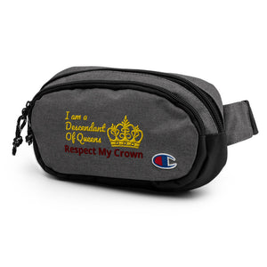 Queen Champion fanny pack