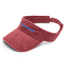 Load image into Gallery viewer, Virtuous Woman Denim visor