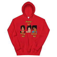 Load image into Gallery viewer, Pray Up-Stand Up-Speak Up Unisex Hoodie - Shannon Alicia LLC