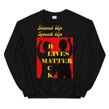 Load image into Gallery viewer, Black Lives Matter Unisex Sweatshirt