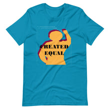 Load image into Gallery viewer, Created Equal Short-Sleeve Unisex T-Shirt