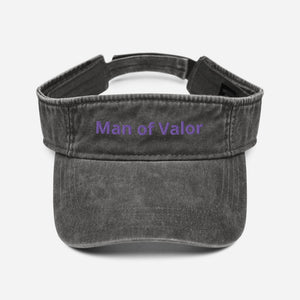 Man of Valor Denim visor