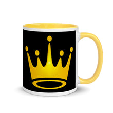 Load image into Gallery viewer, Queen Mug with Color Inside