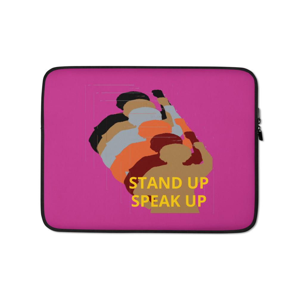 Stand Up-Speak Up Laptop Sleeve