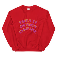 Load image into Gallery viewer, Create Design Inspire Unisex Sweatshirt