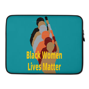 Black Women Lives Matter Laptop Sleeve