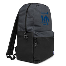 Load image into Gallery viewer, Praises Up Embroidered Champion Backpack