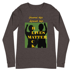Black Lives Matter Unisex Long Sleeve Tee - Shannon Alicia LLC