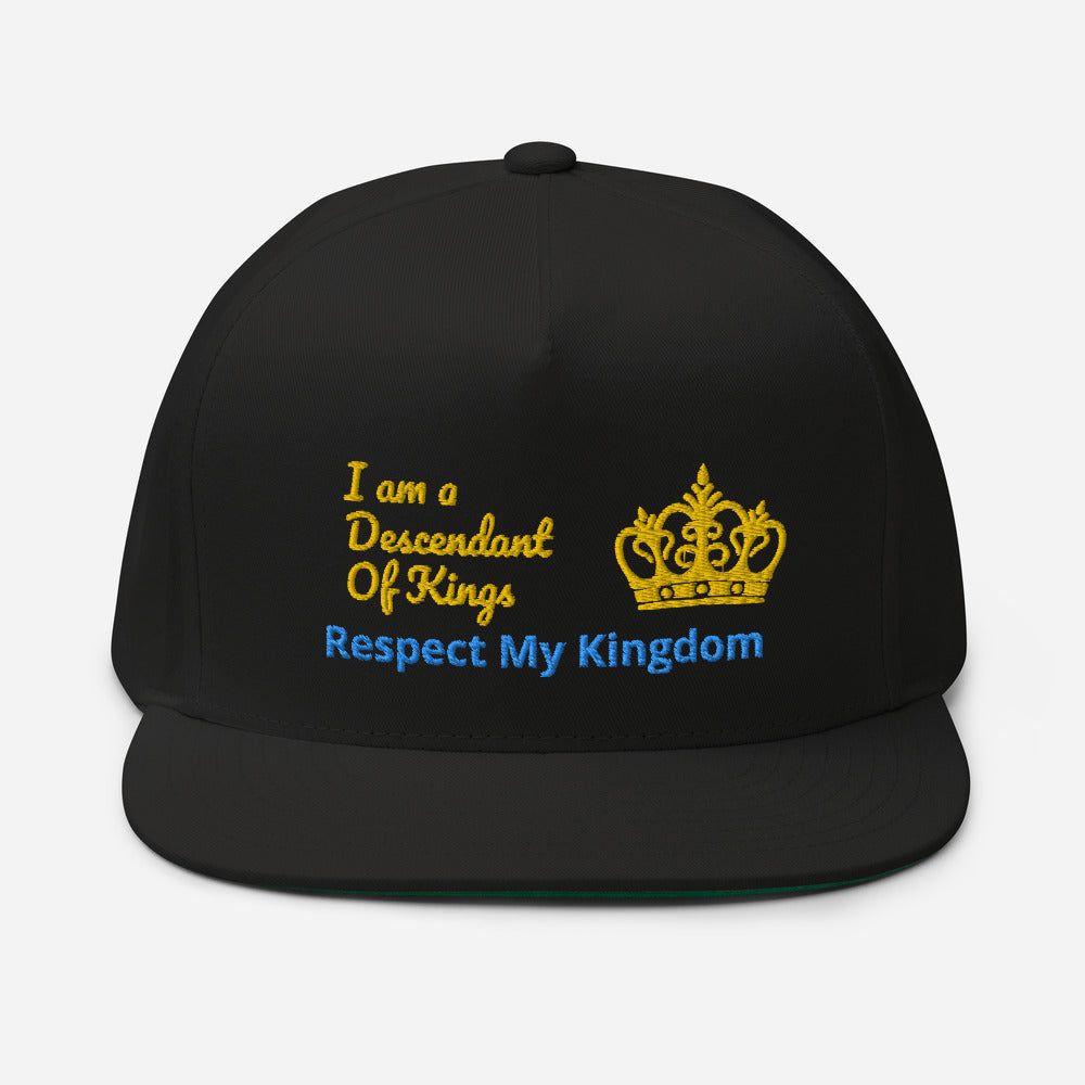 King Flat Bill Cap