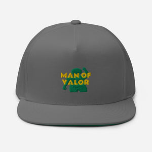 Man of Valor Flat Bill Cap