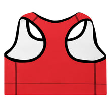 Load image into Gallery viewer, Queen Padded Sports Bra